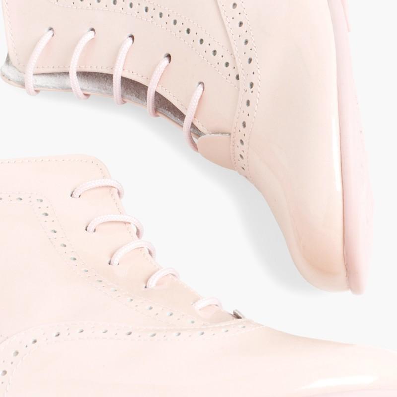 Patent Pascuala Boots Pink