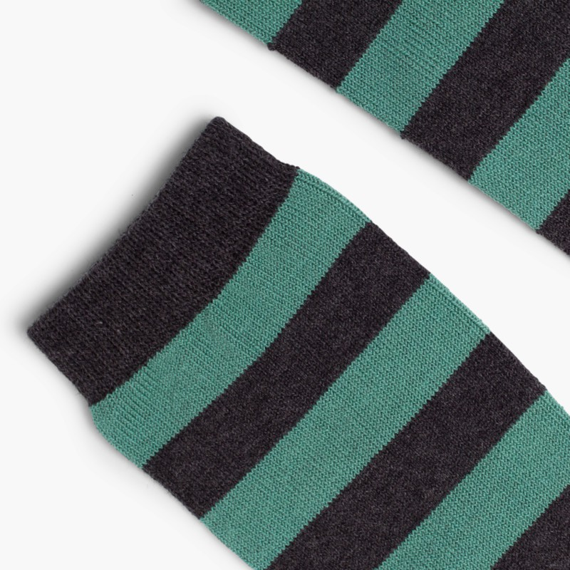 Condor striped high socks Green
