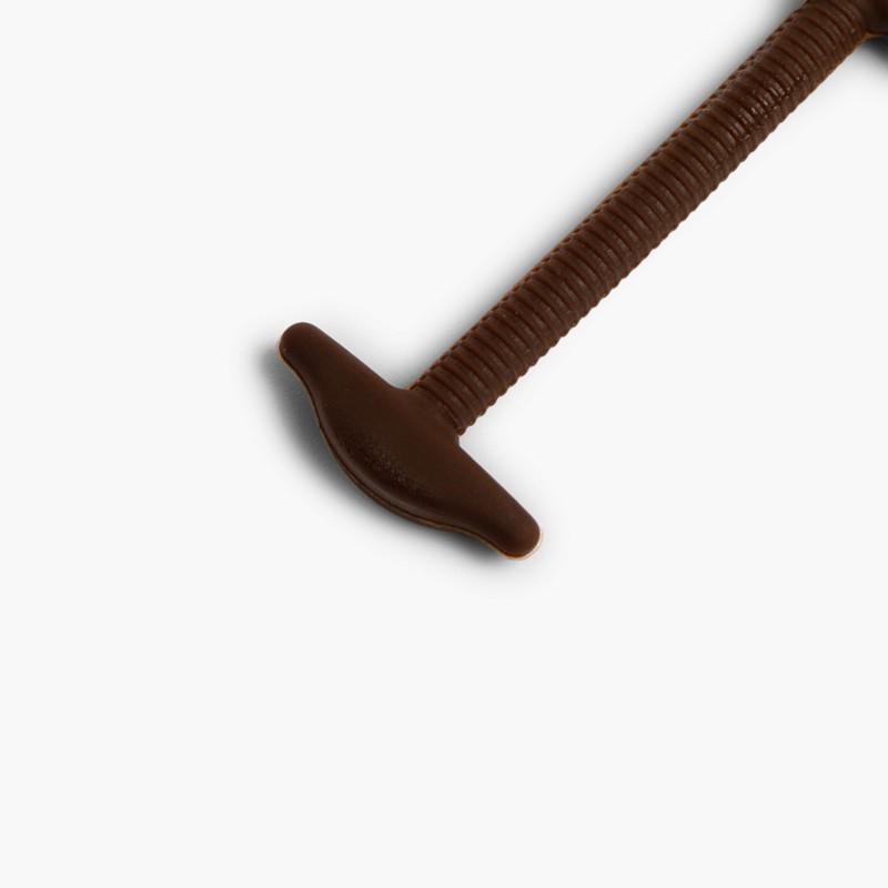 Formal elastic shoelaces Brown