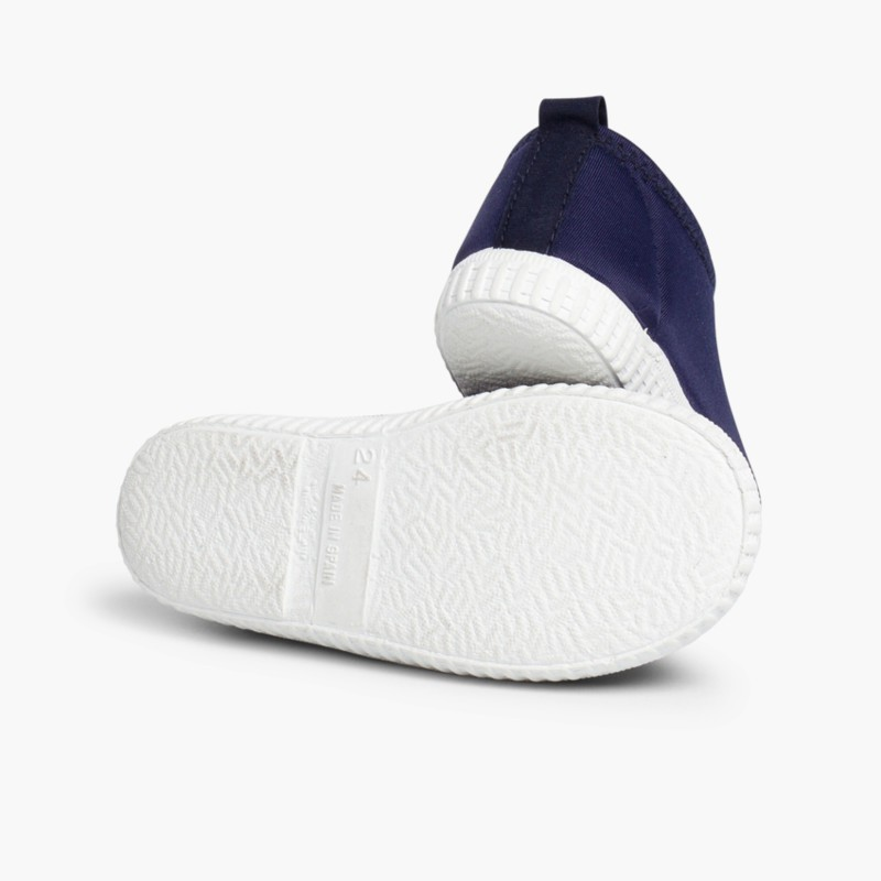 Kids Neoprene-style Water Shoes Navy Blue