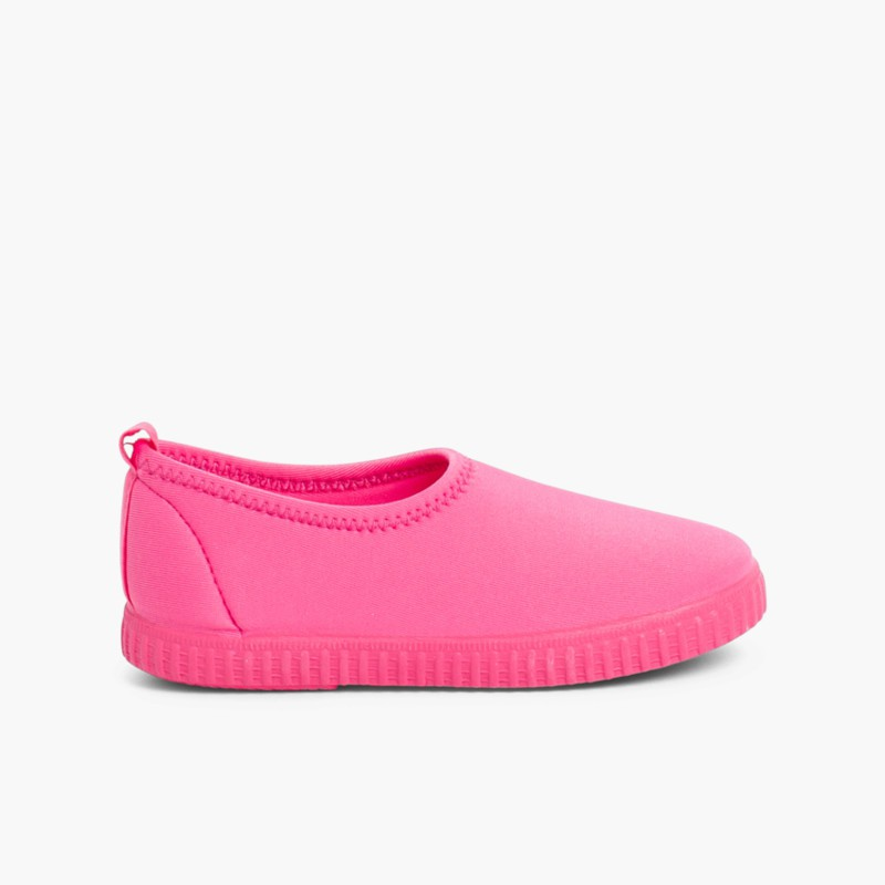 Kids Neoprene-style Water Shoes Fuchsia