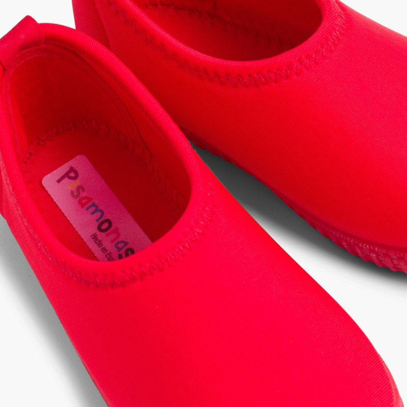 Kids Neoprene-style Water Shoes Red