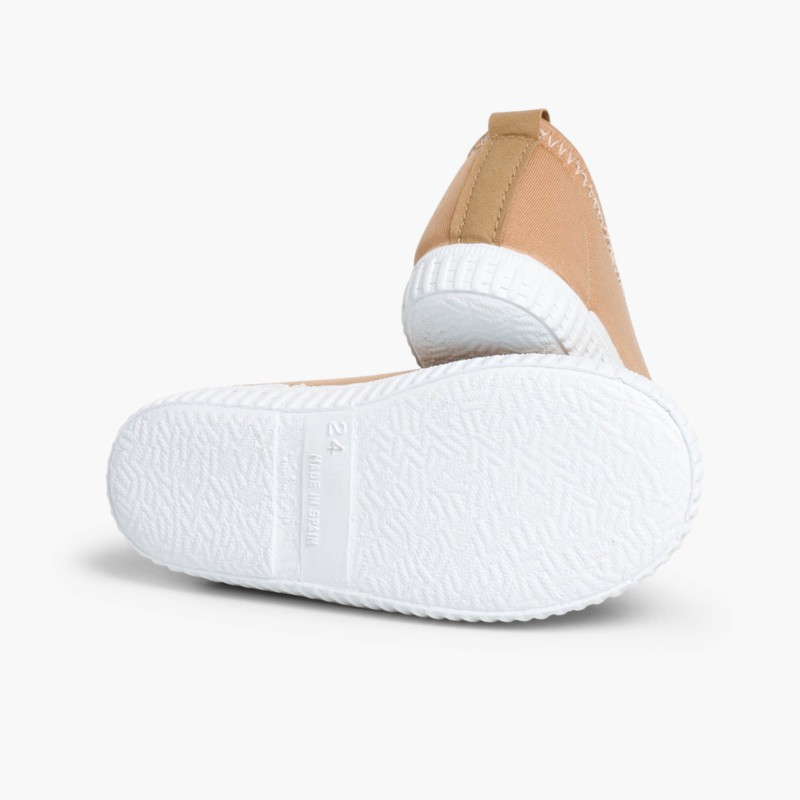 Kids Neoprene-style Water Shoes Light Brown