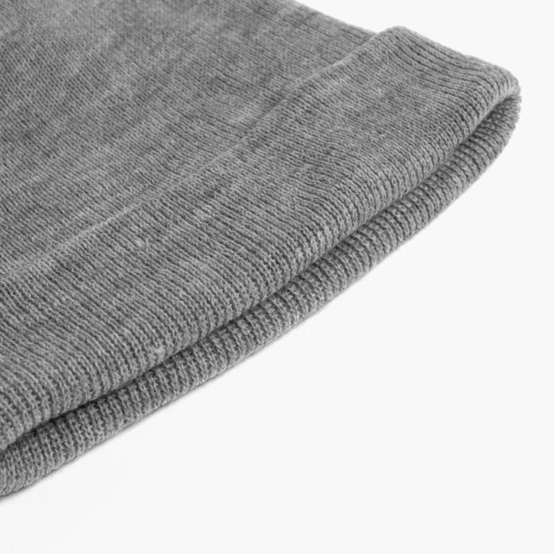 CONDOR Ribbed Beanie 1x1 Grey