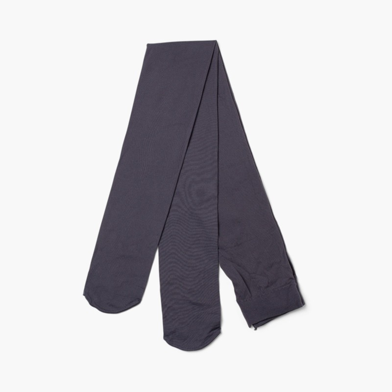 Cóndor Microfiber tights for girls Charcoal