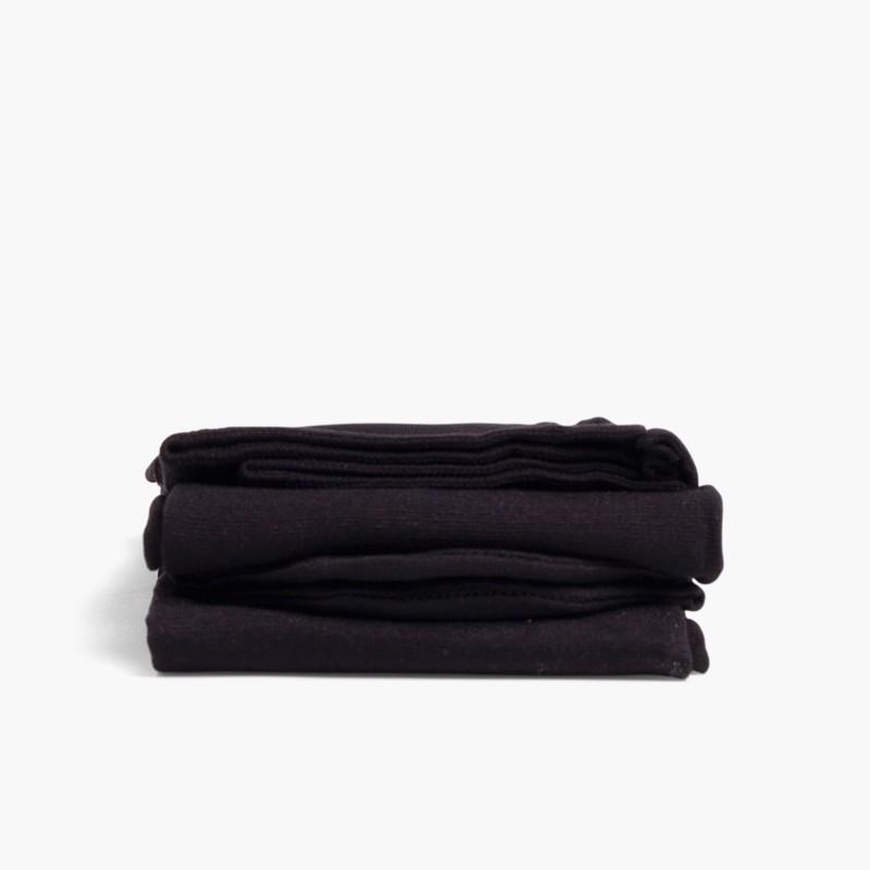 Cóndor Microfiber tights for girls Black