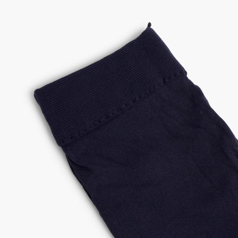 Cóndor Microfiber tights for girls Navy Blue