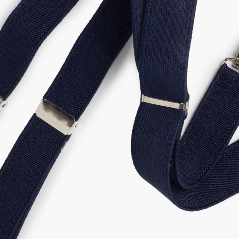 Braces for Boys Navy Blue