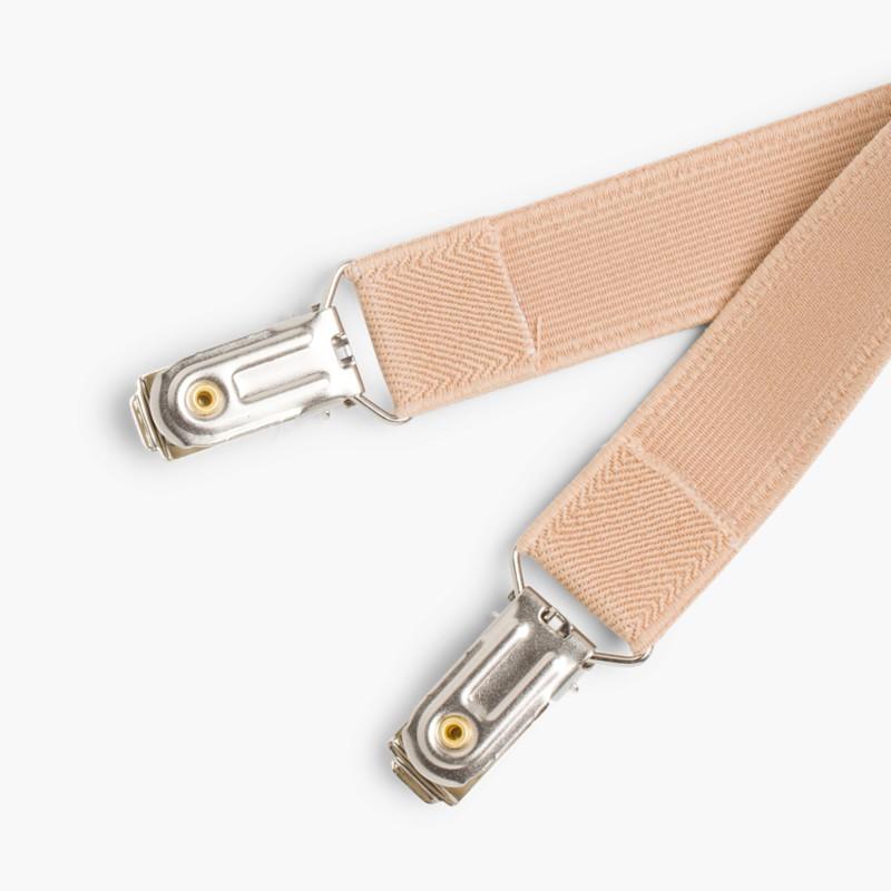 Braces for Boys Beige