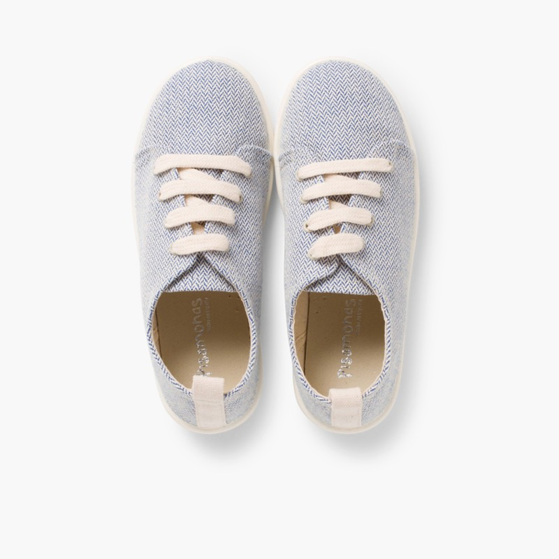 Casual Canvas Shoes Navy Blue