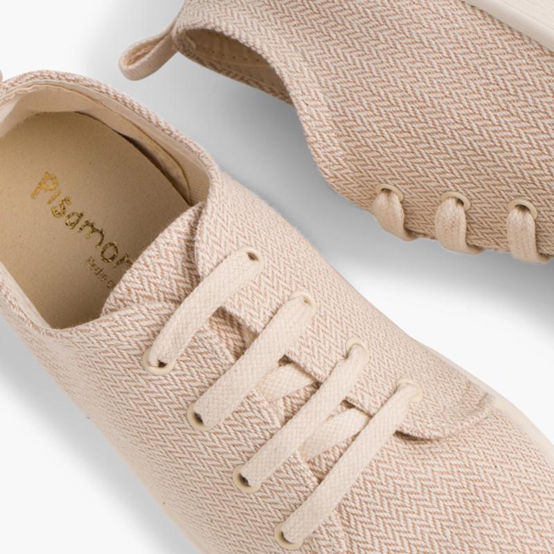 Casual Canvas Shoes Beige