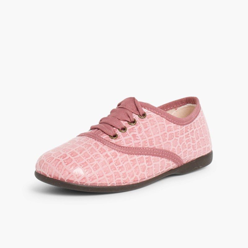 Coco Blucher Shoes for Girls and Women Pink