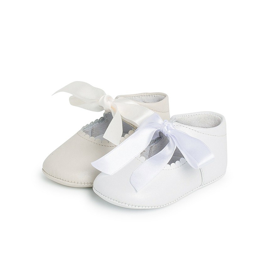 Ceremonial Soft Leather Baby Mary Janes