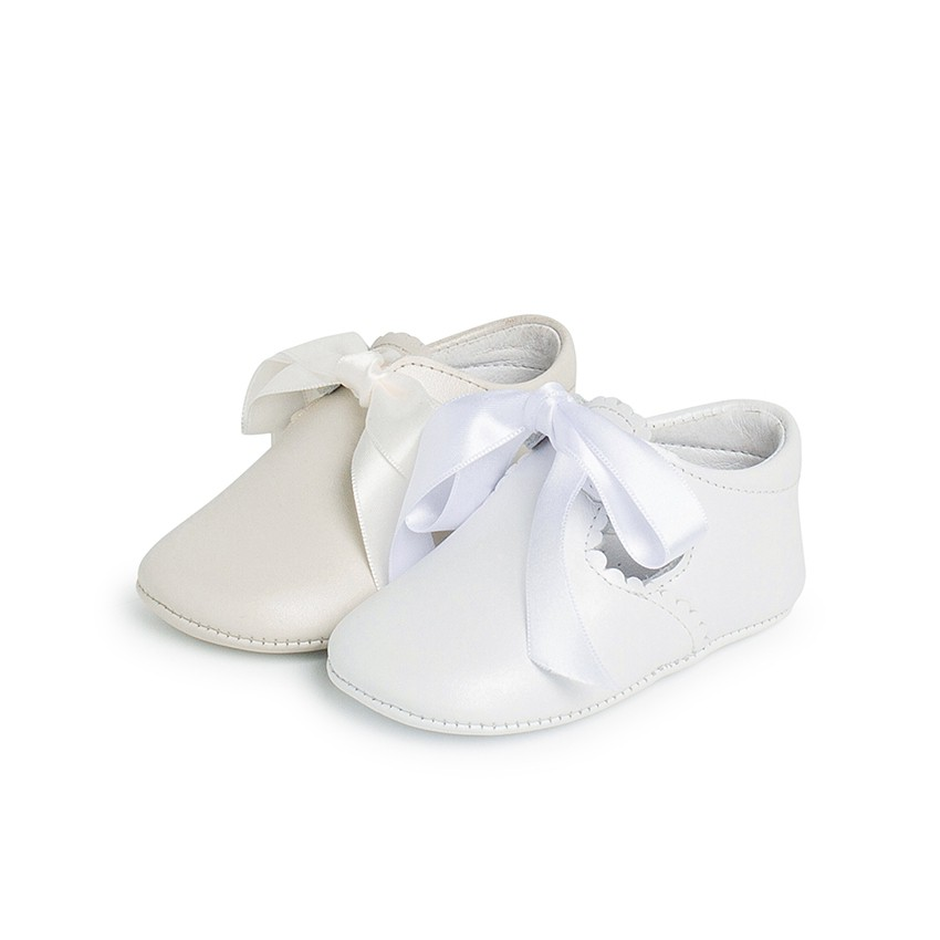 Ceremonial T-Bar Baby Shoes