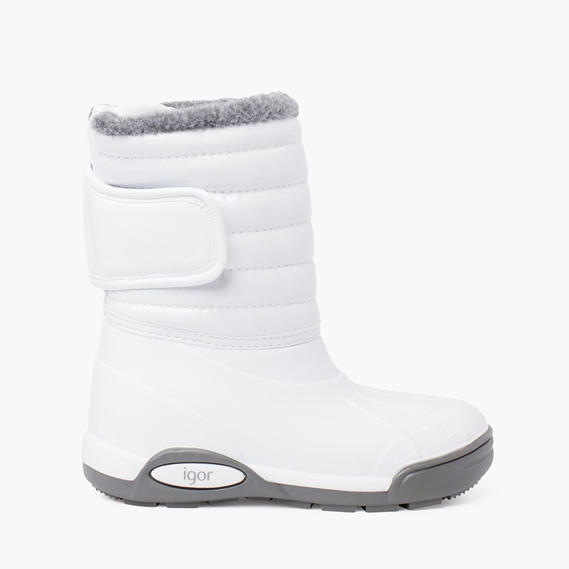 Patent Après-ski boots Fur Lining Adjustable Closure