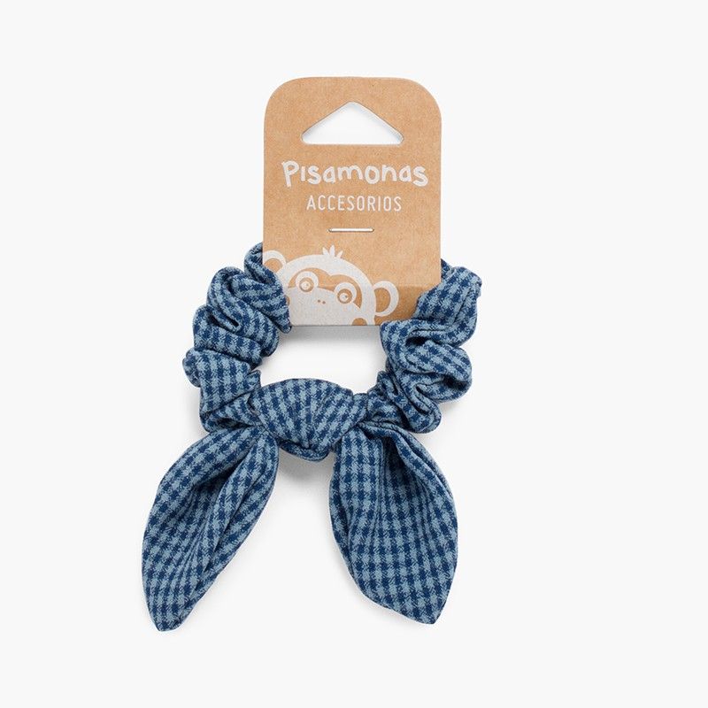 Vichy print Hair Tie