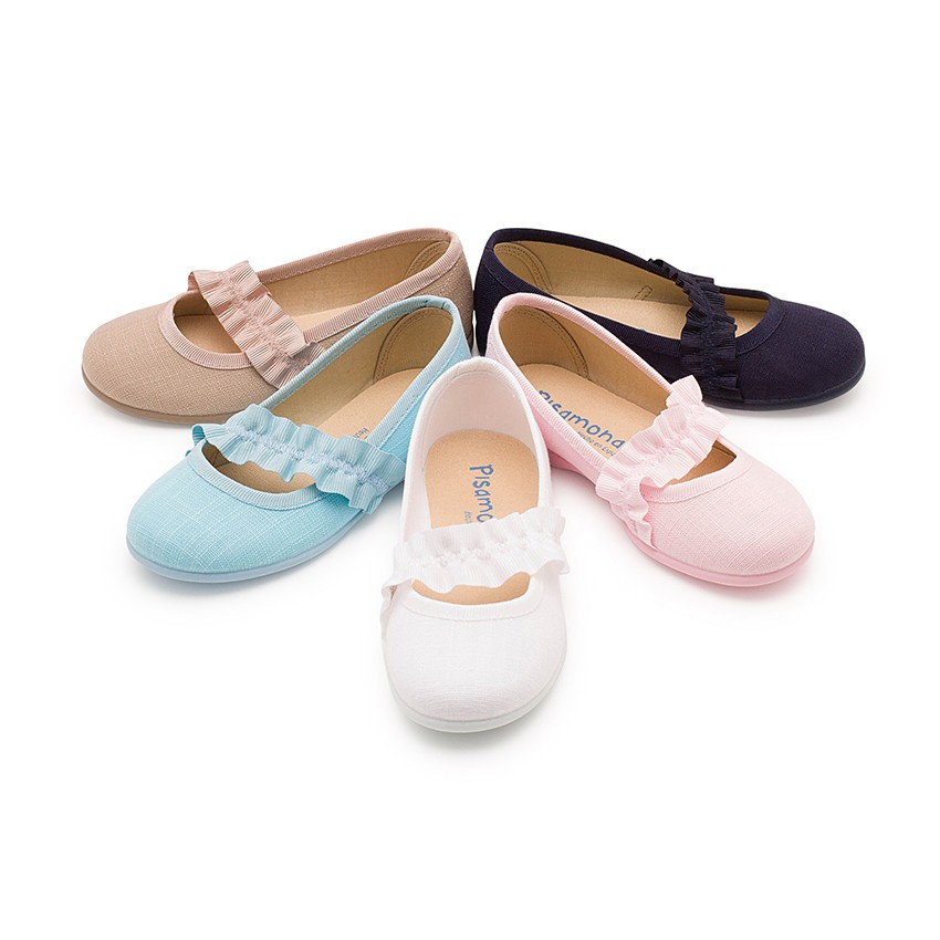 Mary Janes With Wide Elastic Strap