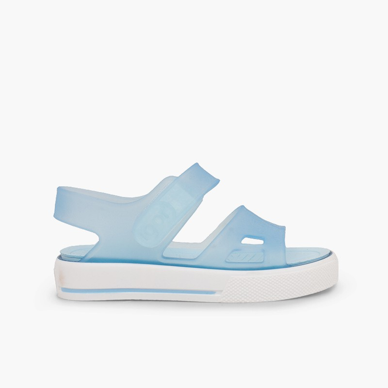 Rubber sandals Malibu sneakers style