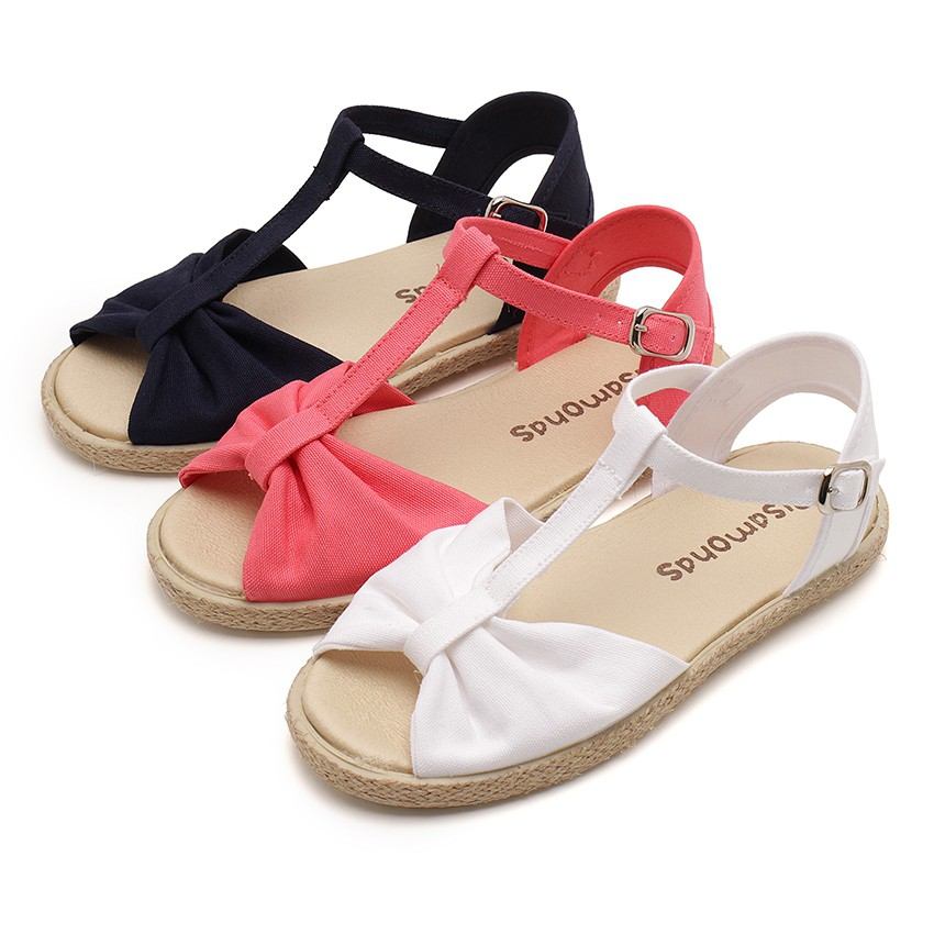Girls Flat Esparto Sandals
