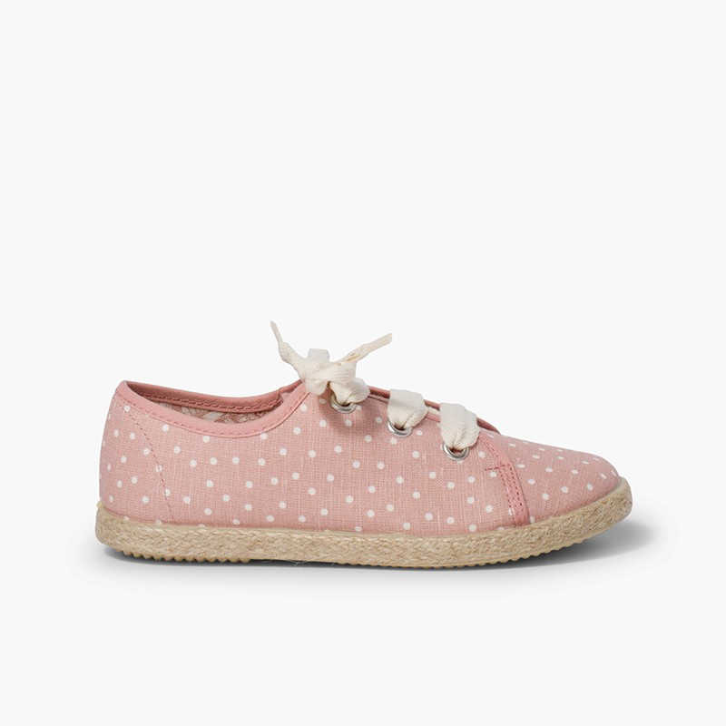 Girls´ canvas pointe trainers