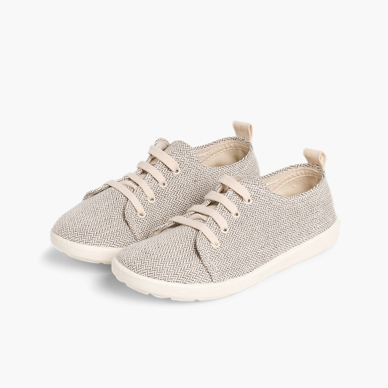 Casual Canvas Shoes Grey