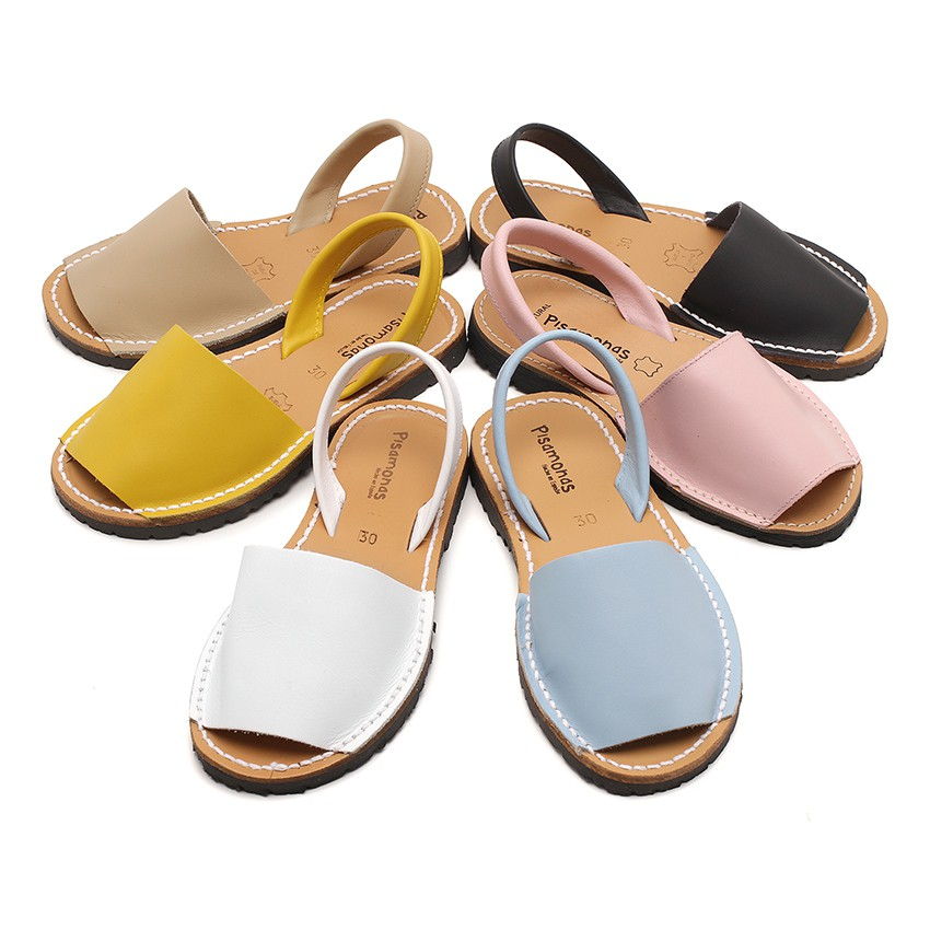 Nappa Avarcas Menorcan Sandals For Boys And Girls