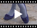 Video from Ballet Pumps with double bows for girls and women