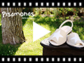 Video from Nubuck Menorcan Sandals with Stars