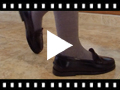 Video from Girls' Leather School Loafers