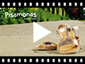 Video from Metallic Flat Leather Sandals