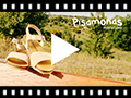 Video from Leather and Suede Sandals with Buckles