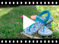 Video from Girls Riptape Canvas Flip-Flops