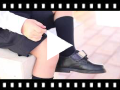 Video from Boys Riptape School Shoes