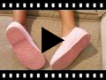 Video from Girls Towelling Bouclé Mary Jane Slippers