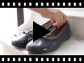 Video from Snake Print Ballet Pumps
