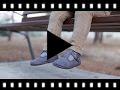Video from Boys Faux Suede T-Bar Shoes