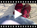 Video from Girls Velvet Mary Janes with Velcro Button
