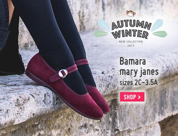 Bamara Mary Janes shoes Automn Winter 2017