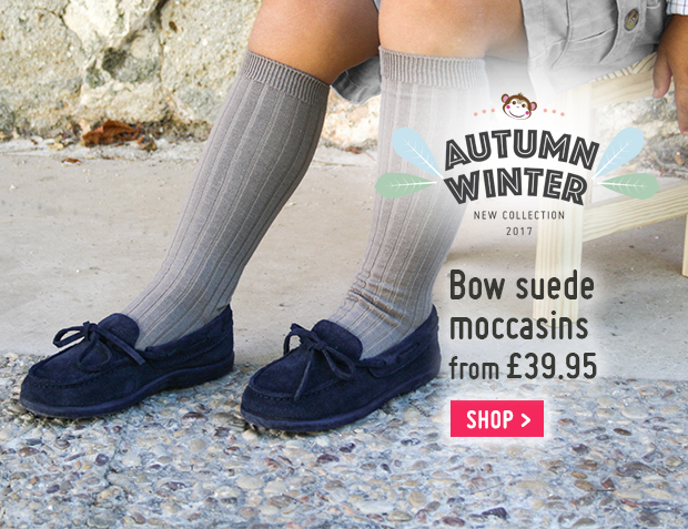 Bow Suede Moccasins Automn Winter 2017