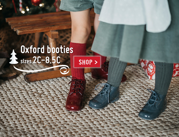 Lace-up oxfords Christmas 2017