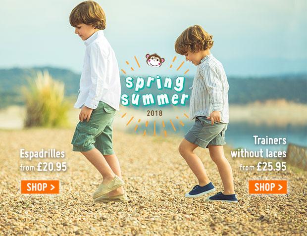 Espadrilles boys 2018 Spring Summer