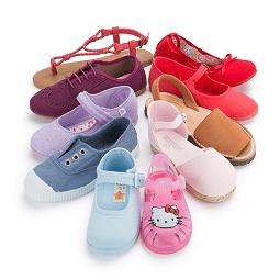 Zapatos para niñas online en Pisamonas
