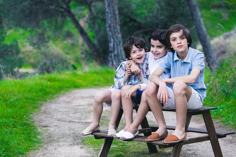 Menorcan Sandals for Children