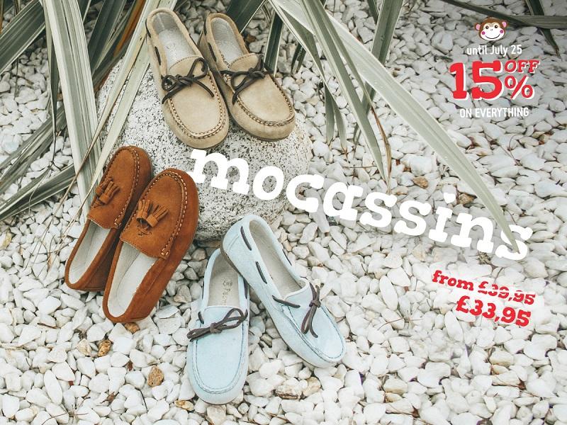 Mocassins Sales