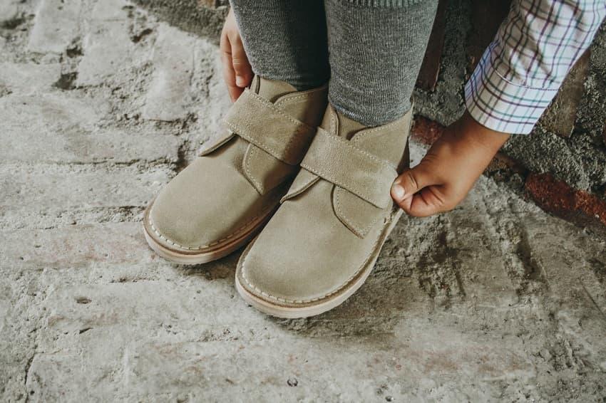 Guía de tallas de zapatos Pisamonas