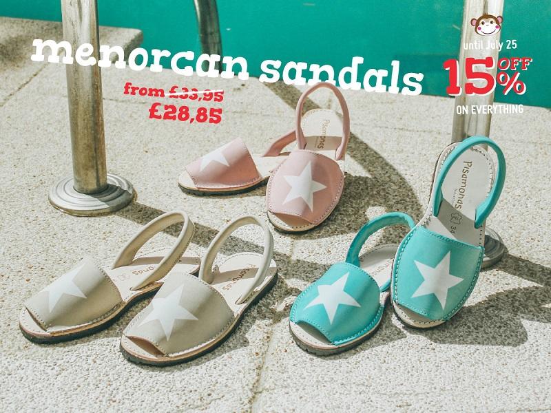 menorcan sandals Pisamonas